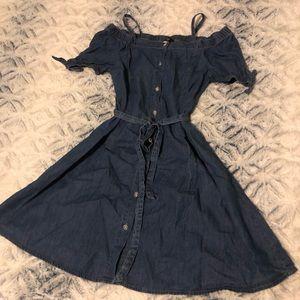 Bebe Girls Denim Dress